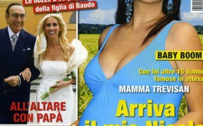 Miriana Trevisan, ecco il pancione in copertina