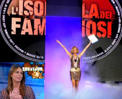 """Simona Ventura: """"Survivor mi dà la carica"""""""