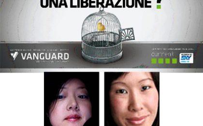 Laura Ling in esclusiva per Vanguard
