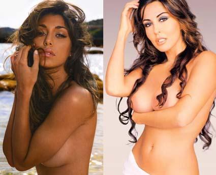 Belen Rodriguez e Sabrina Ferilli cercano pubblicità