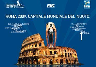 Mondiali Nuoto Roma 2009 su Eurosport e Rai