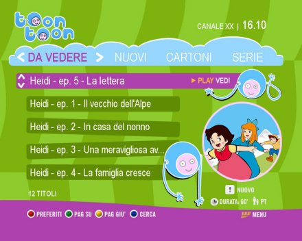 FastwebTv lancia Toon Toon e Jugo per i bambini