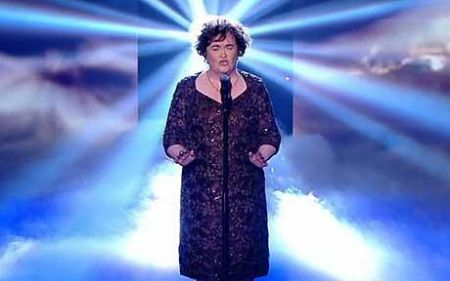 Niente Ugly Betty per Susan Boyle