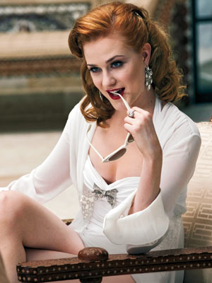 la prima foto di Evan Rachel Wood in True Blood