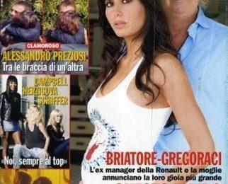 """Briatore e Gregoraci: """"Nostro figlio la vittoria più bella"""""""