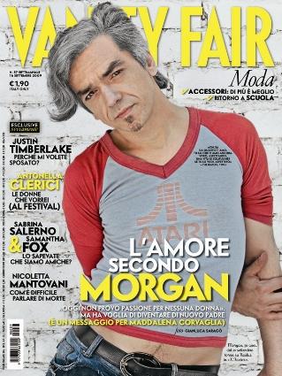 Morgan a Vanity Fair: mai visto Amici, Mediaset bandita da casa
