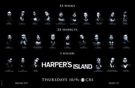 Harper's Island, gli episodi della prima stagione
