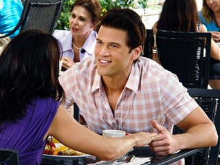 Nick Zano in Melrose Place?