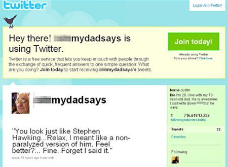 Shit My Dad Says, l'account di Twitter che diventerà serie tv