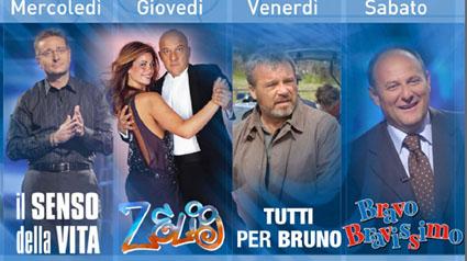 Il prime time di Canale 5 2010 dal mercoledì al sabato