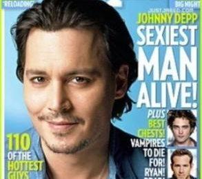 People: Johnny Depp è di nuovo l'uomo più sensuale