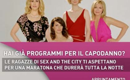 Sex & The City – Tutto in Una Notte, la maratona su La7