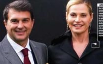 Simona Ventura e Joan Laporta