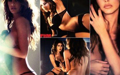 Melita Toniolo provocante su FHM UK