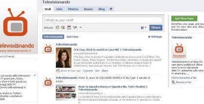 Televisionando su Facebook e Twitter: diventa fan e seguici!