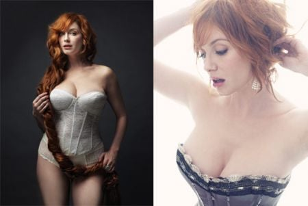 Mad Men, cover sexy per Christina Hendricks
