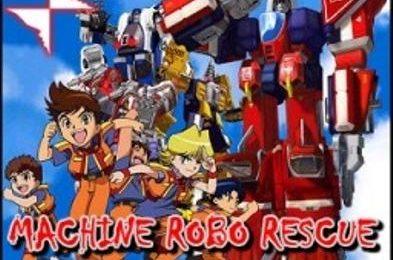 Machine Robo Rescue, il nuovo anime di Cartoon Flakes