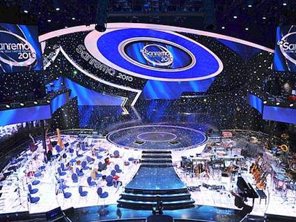 Sanremo 2010, la scenografia in anteprima