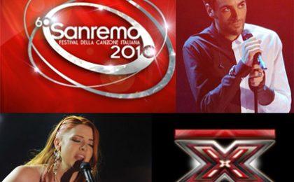 Sanremo 2010, in attesa del vincitore: è l'anno di X Factor?