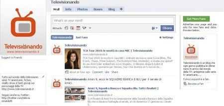 Televisionando su Facebook, superata quota mille fan!