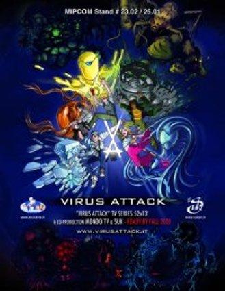 Virus Attack: accordo Mondo TV-TimeWarner, in onda su Boing e CN