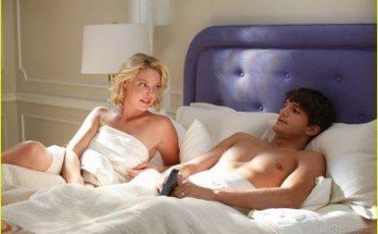 "Grey's Anatomy, Katherine Heigl mostra un po' di ""anatomia"""