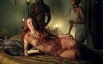 Lucy Lawless nuda in Spartacus
