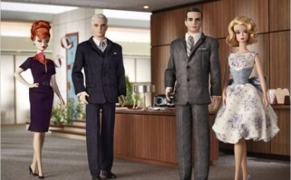 Mad Men, quattro personaggi diventano Barbie; e Bryan Batt sarà in Ugly Betty