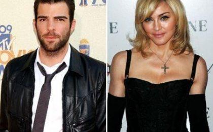 Heroes, flirt fra Madonna e Zachary Quinto?