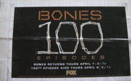 Bones 5, le foto del centesimo episodio. David Boreanaz ringrazia i fan