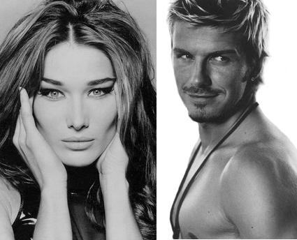 Pesci d'Aprile: Carla Bruni a Radio Kiss Kiss; Beckham vice CT dell'Australia