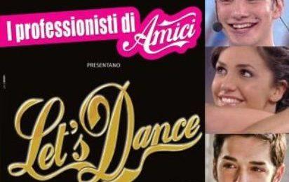 Amici 9: Stefano, Elena e Michele nel musical Let's Dance
