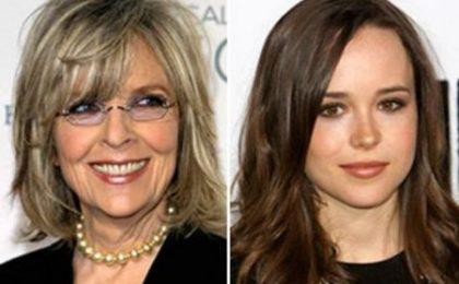 Diane Keaton ed Ellen Page per Tilda