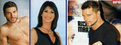 Tra Valerio Pino e Ricky Martin spunta Eleonora Scopelliti