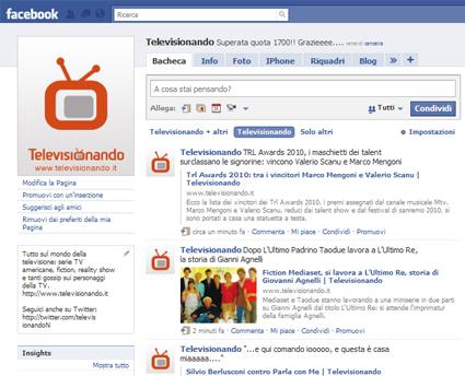 Come seguire Televisionando via RSS, Email, Facebook, Twitter e Google Buzz