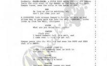 Lost, sceneggiatura di The End