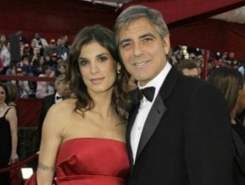 Elisabetta Canalis tra George Clooney e Leverage