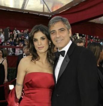 Elisabetta Canalis tra George Clooney e Leverage