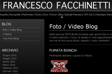 """X Factor 4, Francesco Facchinetti: """"Scelti i quattro giudici"""""""