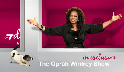 Oprah Winfrey Show al via in esclusiva su La7d