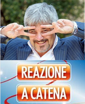 """RaiUno, Pino Insegno a Reazione a Catena: """"Non sono un raccomandato"""""""