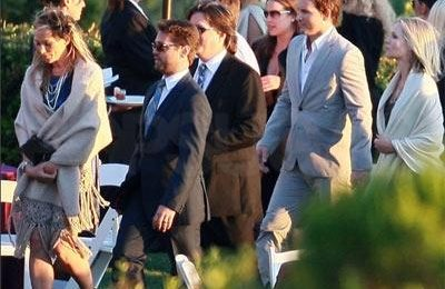 Beverly Hills 90210, tutti al matrimonio di Steve (Ian Ziering)