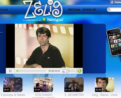Zeligtube, una tv online tutta da ridere