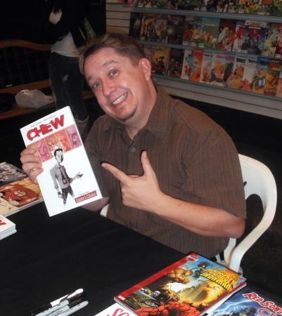 Chew, in arrivo una nuova serie tratta da un fumetto?