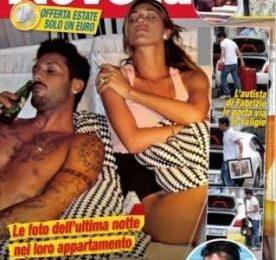 Addio plateale tra Belen Rodriguez e Fabrizio Corona