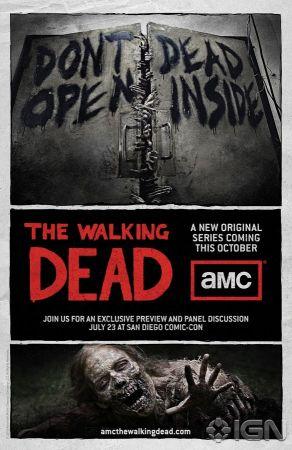 Il poster promozionale di The Walking Dead (AMC)