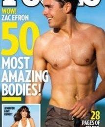 Zac Efron, il corpo più intrigante di Hollywood per People