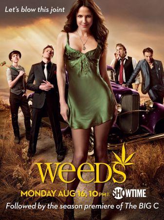 Il poster della sesta stagione di Weeds
