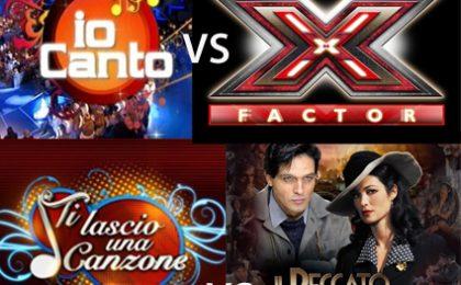 Io Canto dal 14 settembre contro X Factor 4, anticipato Il Peccato e la Vergogna