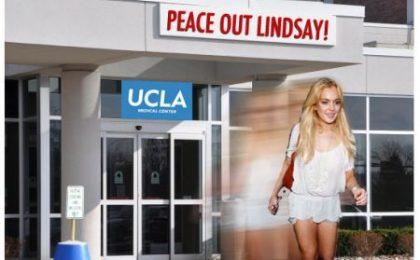 Lindsay Lohan, nuovo sconto: è già uscita dal rehab